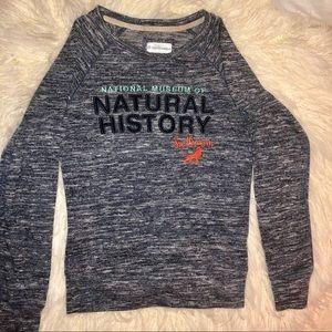 Tops - Smithsonian Long Sleeve Jersey Shirt